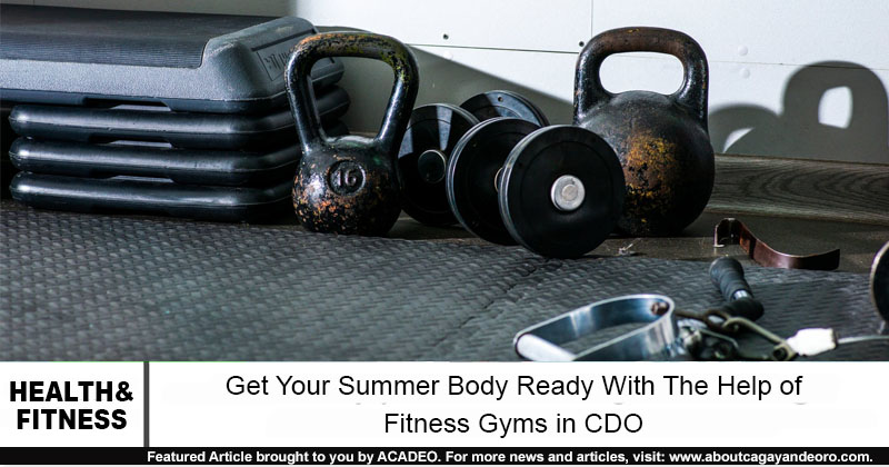 fitness gyms in cdo