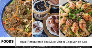 halal restaurants in cdo