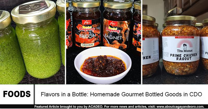 gourmet bottled goods in cdo