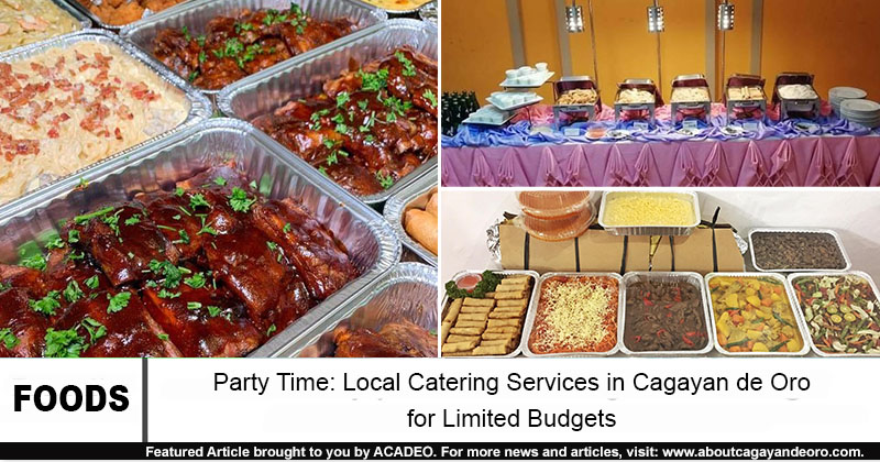 catering services in cdo