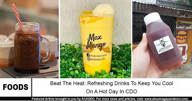 refreshing drinks in cdo
