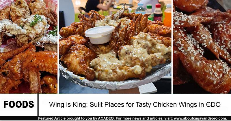 chicken wings in cdo