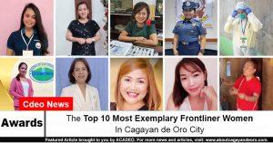 exemplary frontliner women