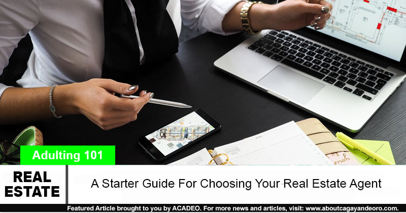 real state agent buying a home