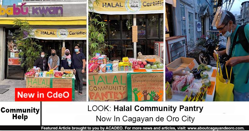 Halal Community Pantry