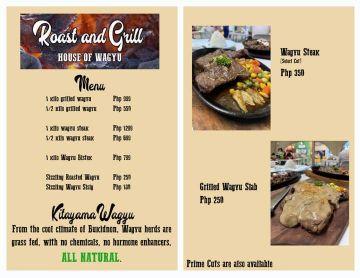 the roast and grill kitayama wagyu beef