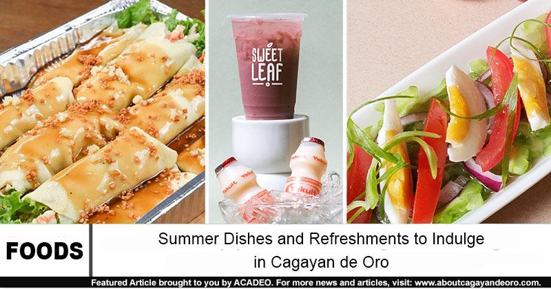 summer foods in cdo