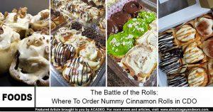 cinnamon rolls in cdo