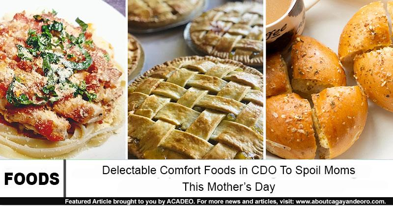 comfort foods in cdo mother's day