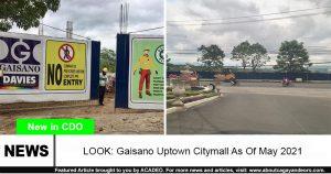 gaisano uptown citymall