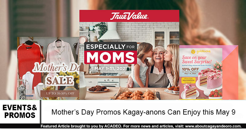 mother's day promos in cdo