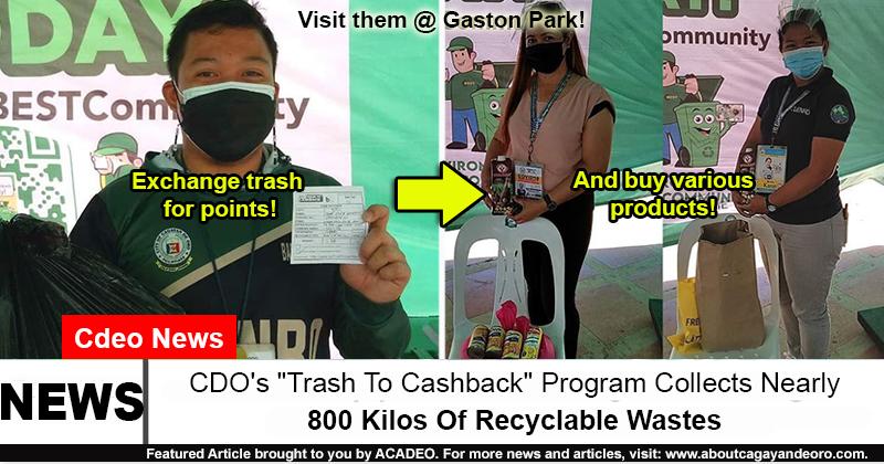 Trash To Cashback