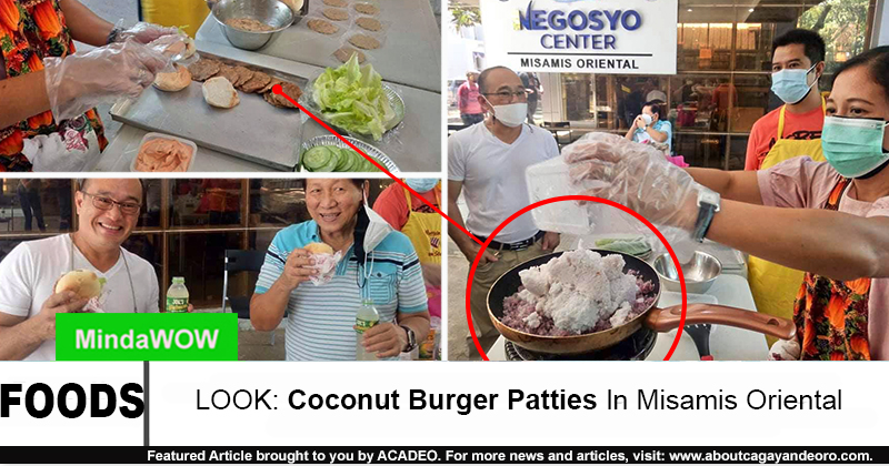 Coconut Burger Patties
