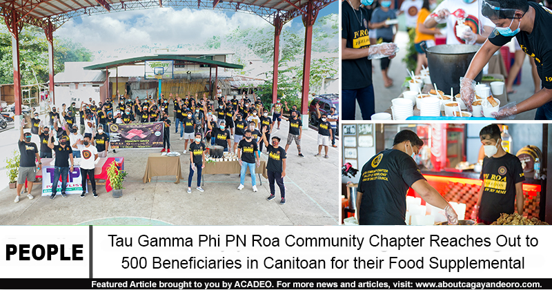 tau gamma phi canitoan food supplemental assistance
