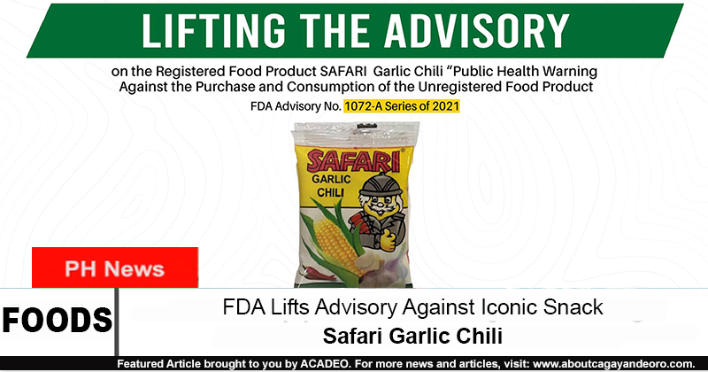 safari garlic chili